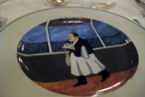 crystal cruises plate