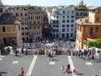 spanish steps view