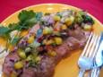 pork tenderloin w island salsa