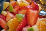 fruit salad & brunch menu