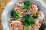 orzo shrimp broccoli pasta