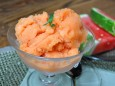 peach and watermelon sorbet