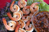 shrimp romesco