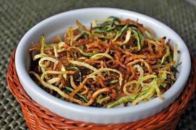 shoestring fried zucchini