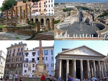 collage rome 3