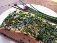 salmon w chives