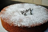 olive oil cake with sugar