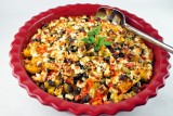 spag squash mexican casserol