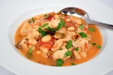 chicken chili w white beans