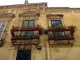 Lecce virágok épület