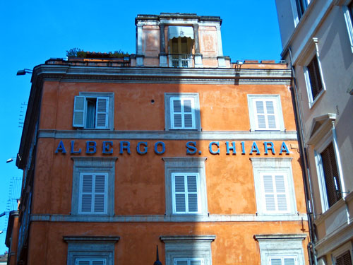 albergo santa chiara rome