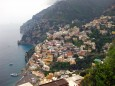 positano from high up