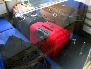 italy train luggage