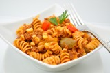 Mexican beef & pepper pasta