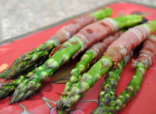 grilled asparagus prosciutto