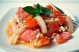 watermelon tomato salad with feta