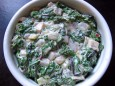 steakhouse creamy greens