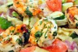 lighter pasta primavera w shrimp