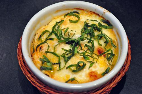 baked italian eggs
