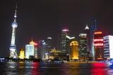 shanghai pudong lights china