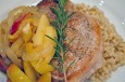 pork chops w apples & onions