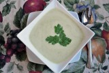 cream of cilantro soup