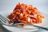 carrot slaw w buttermilk dill dressing
