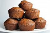 chocolate chocolate chip zucchini muffins