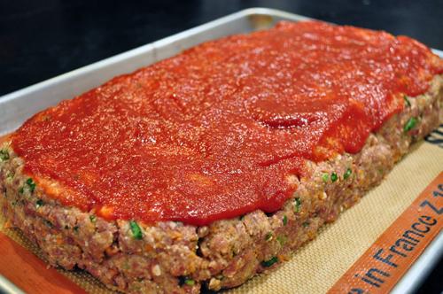 bison and ricotta meatloaf