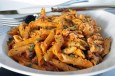 penne w lamb and pork ragu