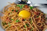 spaghetti carbonara w a twist