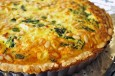 spinach feta cheese and pine nut tart