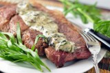 pork-blade-steak-with-tarragon-mushroom-cream-sauce