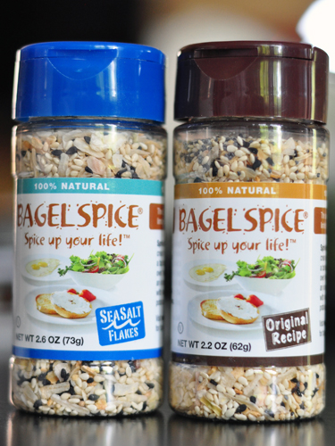 bagel spice mixture with seeds garlic and onions