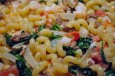 use up what's in your pantry for a versatile pasta dish with shrimp and sausage