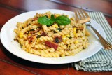 pasta-with-bacon-corn-and-basil