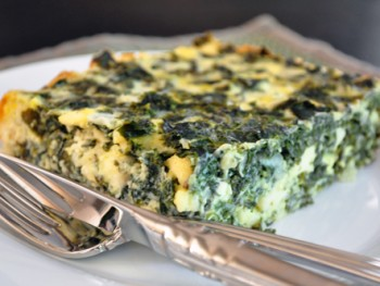 crustless-kale-pie-with-cheese