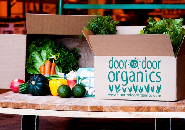door to door organics giveaway