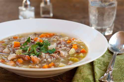 turkey-and-rice-soup