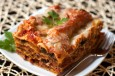 lasagna with meat and vegetables