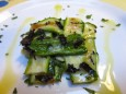 zucchini with brie and mint