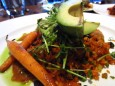 row 14 grilled avocado vegetarian entree