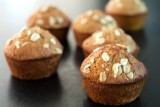 melon muffins with bran