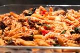 pasta bake with eggplant