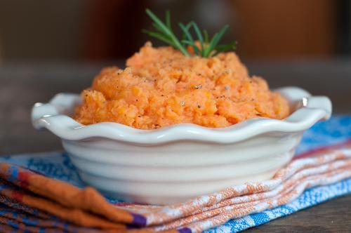buttermilk mashed sweet potatoes