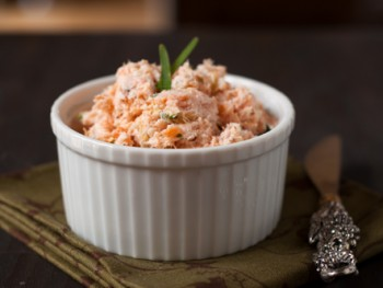 salmon and goat cheese spread
