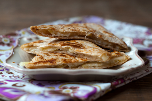 apple and brie quesadillas 1