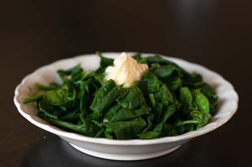 spinach cooked
