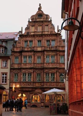 11 Heidelberg, Hotel Ritter
