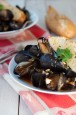 Chipotle Steeped Mussels